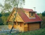 ساخت ویلای تمام چوبی تادو طبقه 45 روزه