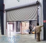 کرکره و درب اتوماتیک صنعتی مخصوص کارخانه، سردخانه، انبار با موتور سه فاز گیربکسی AbtinDoor