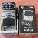 فروش یونیت  گیتار  super  octaver  مدل  بهرینگر  so400