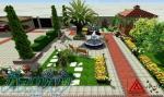 طراحی و اجرای محوطه(آلاچیق،استخر،باربیکیو و )، پارک ، میدان ، بلوار