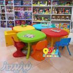 میز وصندلی مهدکودک خانه بازی و مهد کودک در تهران