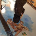 پتينه،نقاشي هنري ديوار و سقف،سفال،نقاشي روي لباس