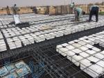 اجرای اسکلت بتنی و سقف های بتنی اجرای انواع فونداسیون بتنی اجرای دیوارهای برشی حایل