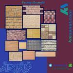 تولید سنگ مصنوعی، موزاییک، نمای ساختمان