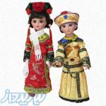 عروسک دکوری دختر و پسر چینی با لباس سنتی کدکالا 99112