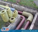 قیمت فروش  خرید پشم سنگ لوله ای - عایق حرارتی صوتی لوله  pipe slag wool