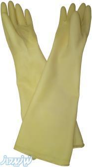 دستکش گلاوباکس دستکش بلند دستکش نیتریل Natural Rubber Glove