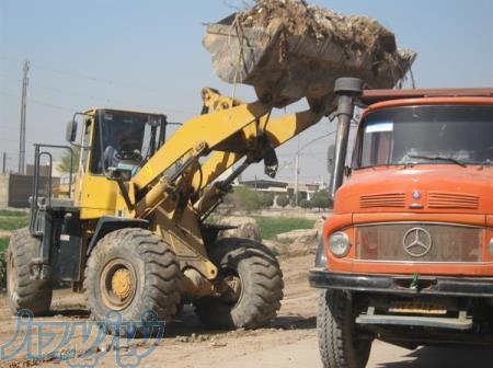 حمل نخاله ساختمانی با نیسان،خاور،کمپرسی،کامیون نصرپاسارگاد