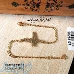 دستبند عمده ضربان قلب طلایی در زیوران
