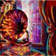 فروش تابلوهای رنگ روغن واکرلیک سبک مدرن