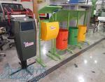 شركت شاهين خودرو آذر به عنوان بزرگترين توليدكننده باكس زباله مكانيزه و نيمكتهاي شهري