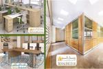 طراحی و اجرای فضاهای اداری و تجاری