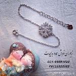 فروش عمده دستبند نقره دونه برف با عیار 925