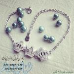 - فروش عمده دستبند نقره سه تاج توسط زیوران
