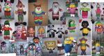 فروش عمده ی عروسک بافت و گونی