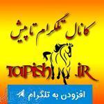 کانال  تلگرام تاپیش