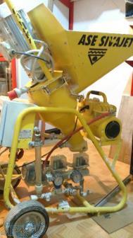 فروش دستگاه گچ پاش ASE مدل sivajet