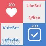 افزایش لایک و رای نظرسنجی تلگرام