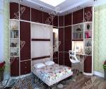 طراحی و تولید تخت خواب های تاشو و دکوراسیون داخلی