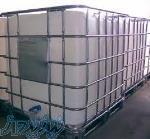 فروش مخزن 1000 لیتری حفاظدار ibc