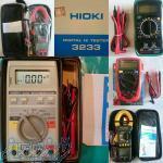 فروش انواع مولتی متر اهم متر و دستگاه های اندازه گیری