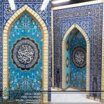 تجهیز و تزئین مساجد و نمازخانه ها با محراب های پیش ساخته در مشهد