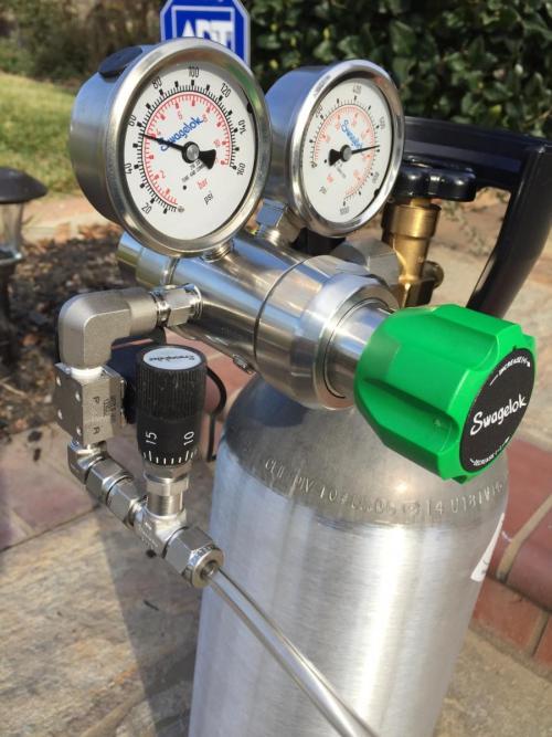 گاز میکس رگلاتور سیلندر گاز فروش هلیوم گاز کالیبراسیون  - تهران