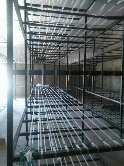 قفسه بندی سالن قارچ با پروفیل متحرک  - تهران