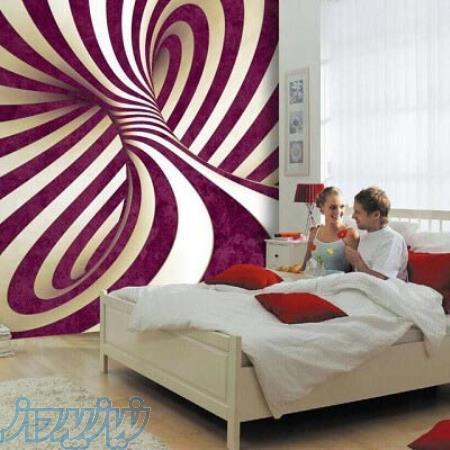 فروش کاغذ دیواری و پوسترهای سه بعدی