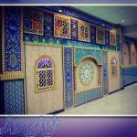 نماز خانه پيش ساخته با دكوراسيون داخلي