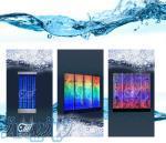 فروش انواع آبنما حبابی پرتابل در ابعاد و اندازه های مختلف،
