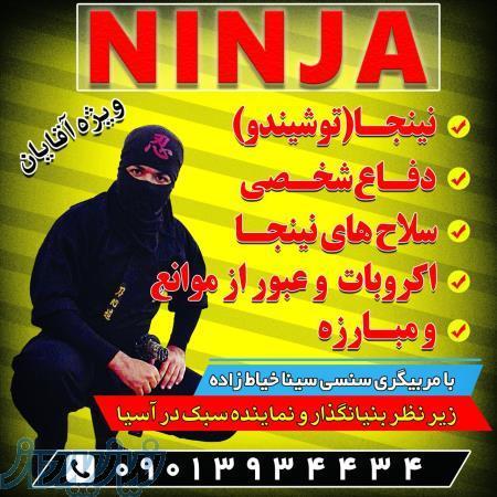 اموزش حرفه ای نینجا (دفاع شخصی سلاح اکروبات مبارزه)