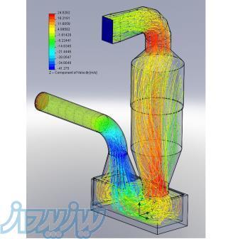 انجام پروژه های رشته مهندسی مکانیک(فلوئنتfluent,سالیدورکsolidwork )