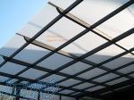 پوشش سقف پلی کربنات و تایل های فلزی(انباری،نورگیر)