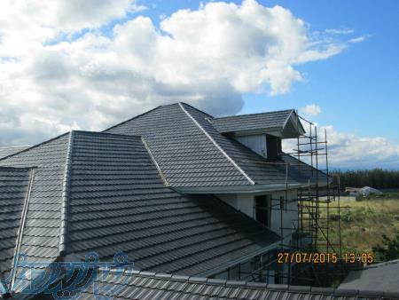 آردواز وساخت سقف های ویلا