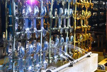 آبکاری پلاستیک , آبکاری فلزات