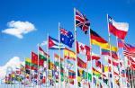 پرچم اهتزاز  وپرچم مذهبی به همراه میله پرچم