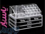 فروش باکس شیشه ای 4 کشویی لوازم آرایشی بانوان با 25 تخفیف