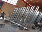 ساخت کانال گرد اسپیرال-هود صنعتی-فن مکنده بکوارد