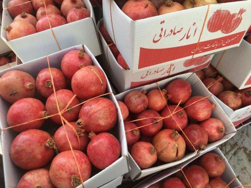 فروش عمده انار  - یزد