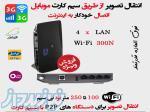 انتقال تصویر از طریق مودم سیم کارتی 3G