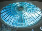 طراحی و اجرای پوشش سقف لایت زیپ (نورگیر سقفی)، جایگزین پلی کربنات
