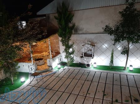 ویلا لاهیجان با چشم انداز بی نظیر بام سبز