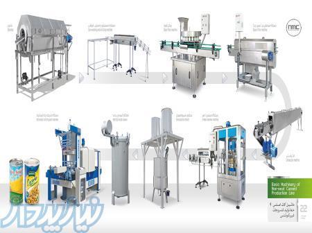 ماشین آلات خط تولید کنسرو خورشت