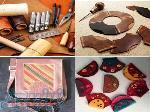 آموزش چرم دوزی دستی (سراجی سنتی) خانمها و آقایان