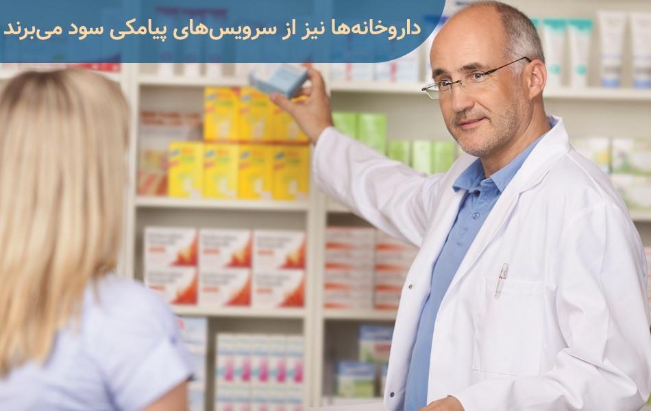 کاربرد های پنل اس ام اس در داروخانه ها | سرویسهای پیامکی داروخانه ها