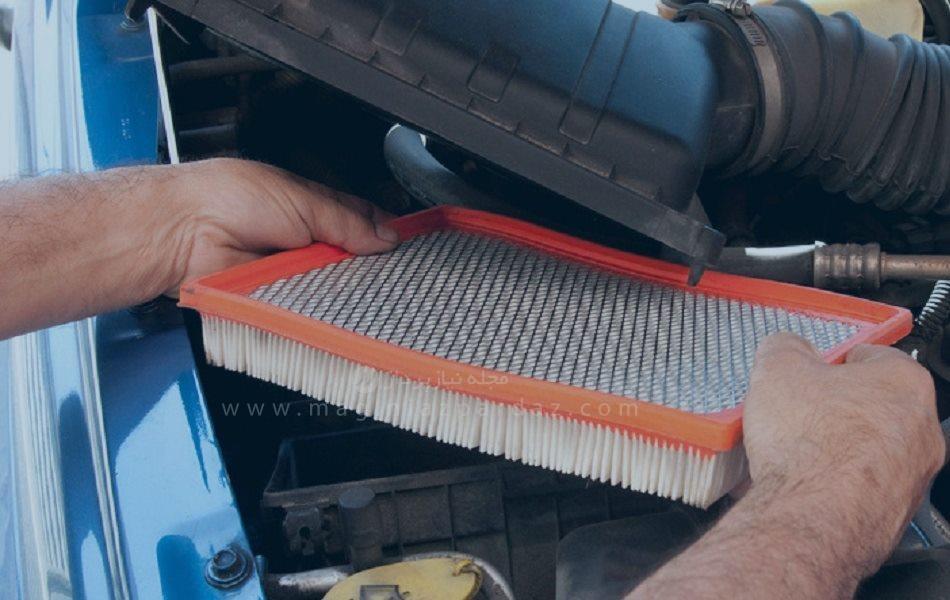 اهمیت فیلتر هوا در خودرو
