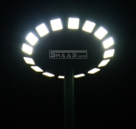برج نور 18 متری با پروژکتور LP48-حاشیه شمالی همت